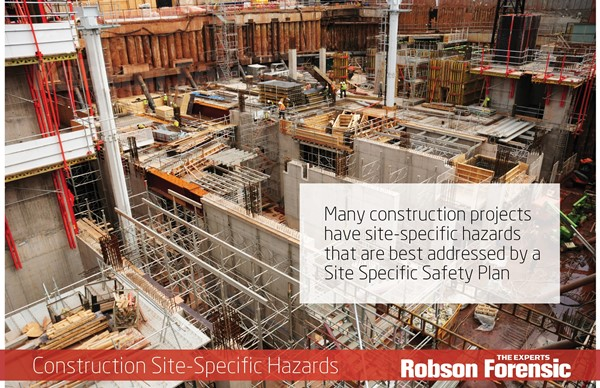 Construction Project Site Specific Safety Plans – Expert