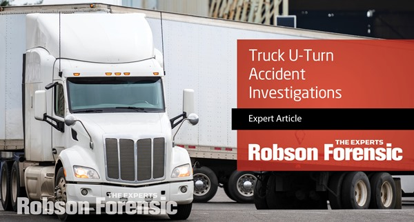 Truck U-Turn Accident Investigations – Expert Overview